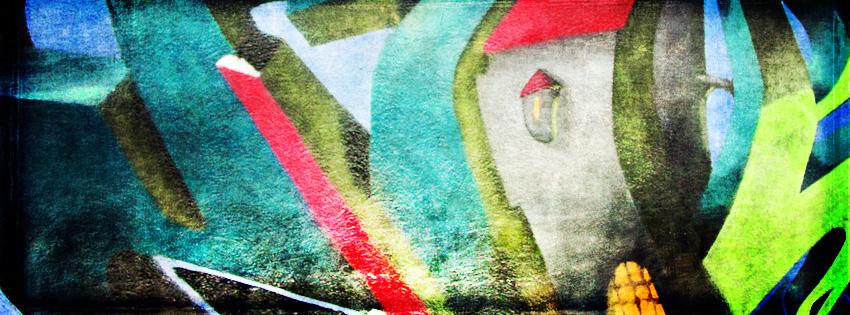 Cool Grunge Graffiti Facebook Cover