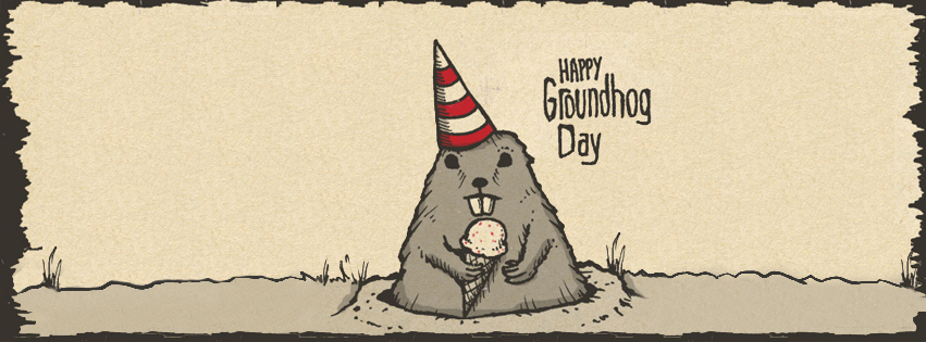 Happy Groundhogs day - Groundhog Picture - Images of Groundhog - Picture of a Groundhog