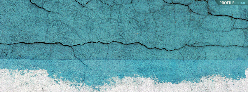 Blue Grunge Wall Facebook Cover