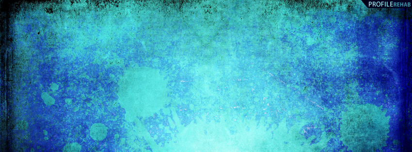 Blue Grunge Facebook Cover
