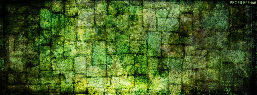 Green Grunge Facebook Cover