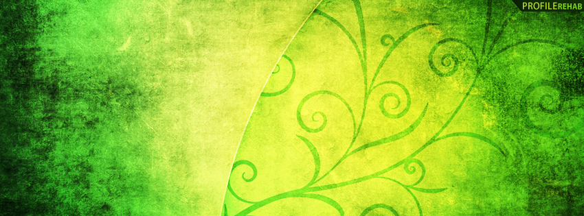 Green Grunge Timeline Cover Preview