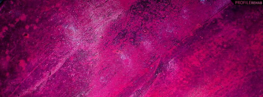 Hot Pink Grunge Facebook Cover