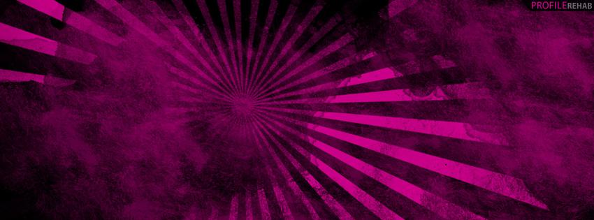 Black & Pink Grunge Cover for Timeline