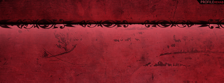 Red & Black Grunge Facebook Cover for Timeline