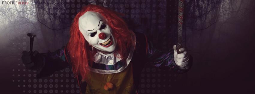Creepy Clown Halloween Photos for Facebook