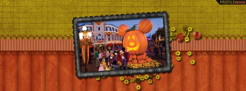 Disneyland Halloweentime Facebook Cover - Disney Halloween Pictures