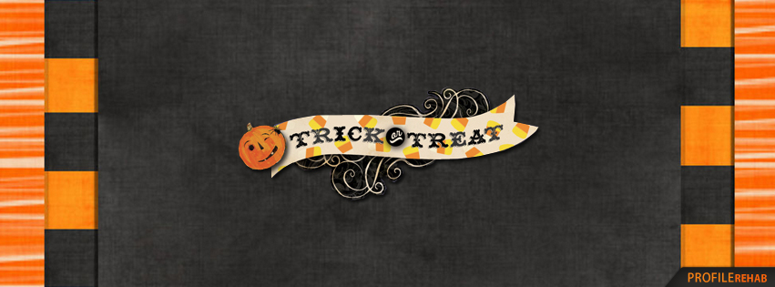 Trick or Treat Halloween Banners - Halloween Facebook Banner - Free Halloween Graphics