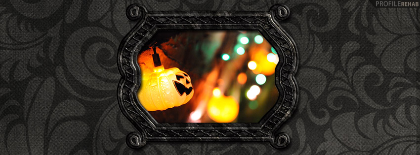 Halloween Lights Facebook Cover - Photos Halloween -  Hallowen Pictures