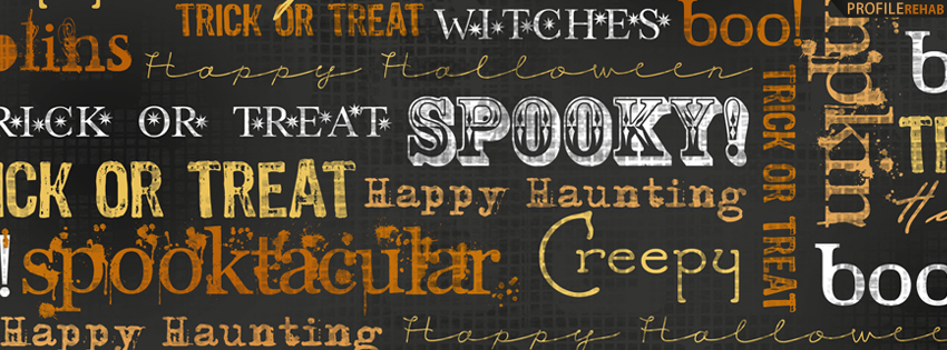 Halloween Sayings Facebook Cover - Halloween Phrases Pictures - Halloween Slogans