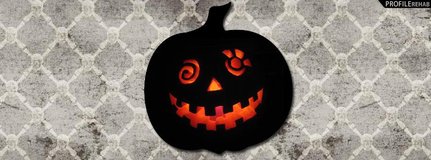 Skulls and Jack O Lantern Facebook Cover - Jack o Lantern Pictures - Jack o Lantern Images