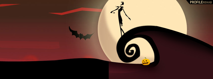 Nightmare Before Christmas Facebook Cover - Jack Skellington Pictures