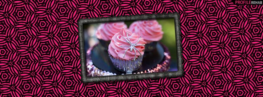 Pink Spider Webs Halloween Facebook Cover - Cute Halloween Cover Photos