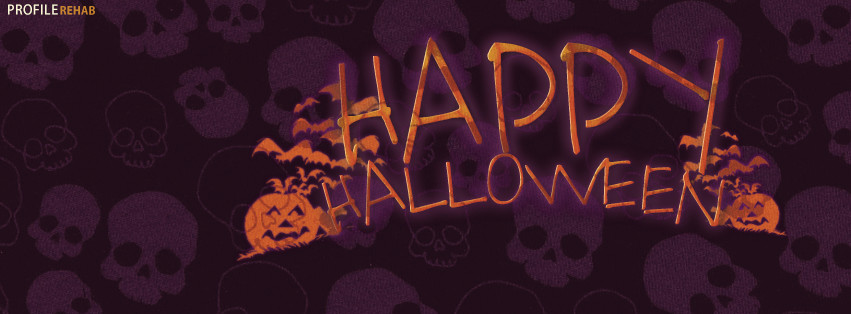Skull Happy Halloween Pics for Facebook Theme - Happy Halloween Photos Free
