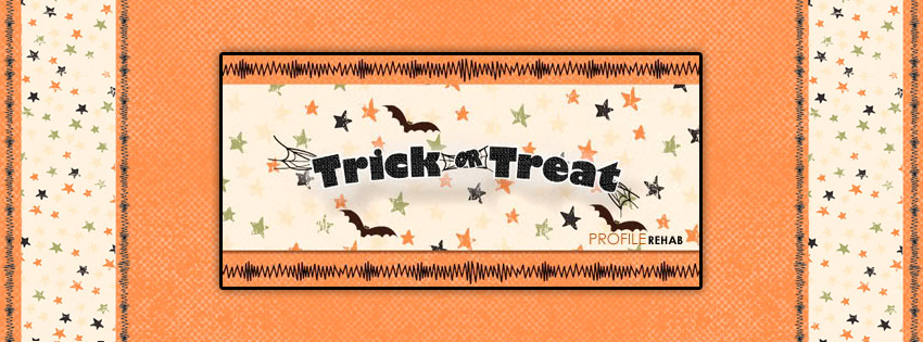 Trick or Treat Facebook Cover - Trick or Treat Sayings Images