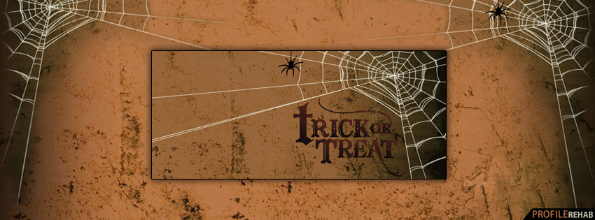 Halloween Trick or Treat Facebook Cover - Trick or Treat Quotes Pictures