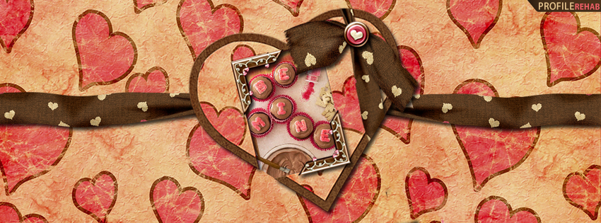Be Mine Cupcakes Facebook Cover - Cupcake Pictures