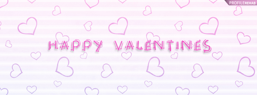 Happy Valentines Facebook Cover - Happy Valentine Day Graphics Preview