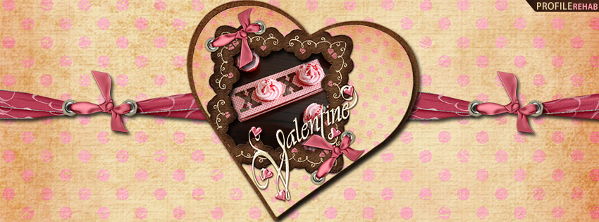 XOXO Valentine Facebook Cover - Free Valentines Day Images