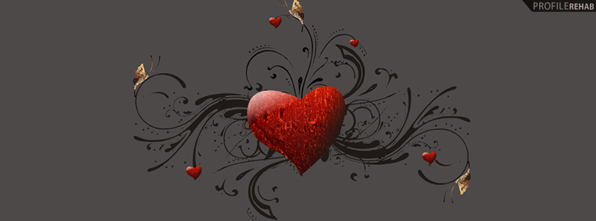 Artistic Heart Facebook Cover - Pictures for Valentines Day