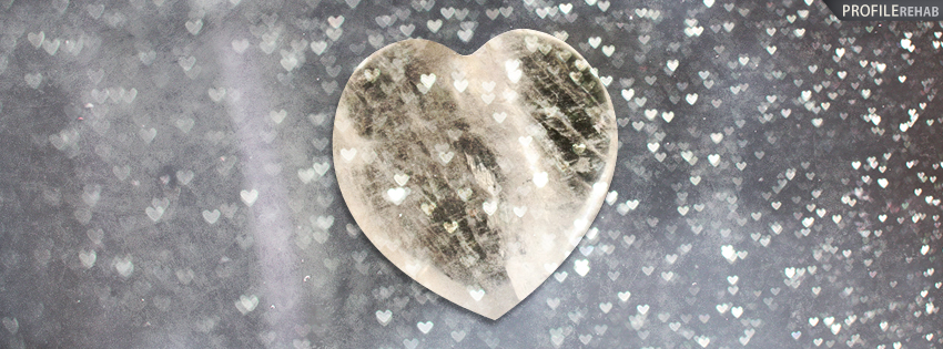 Moon Heart Facebook Cover - Valentine Free Images