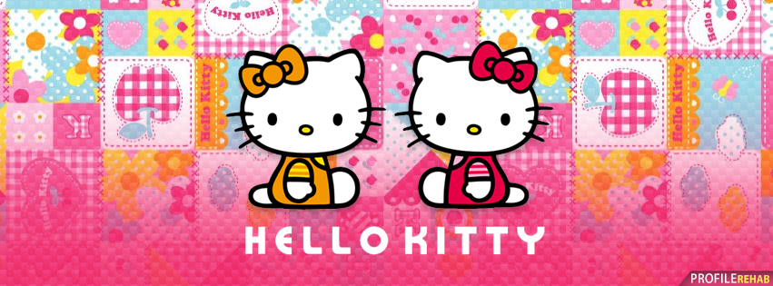 Cute Hello Kitty Facebook Cover
