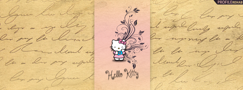 Free Vintage Hello Kitty Facebook Cover
