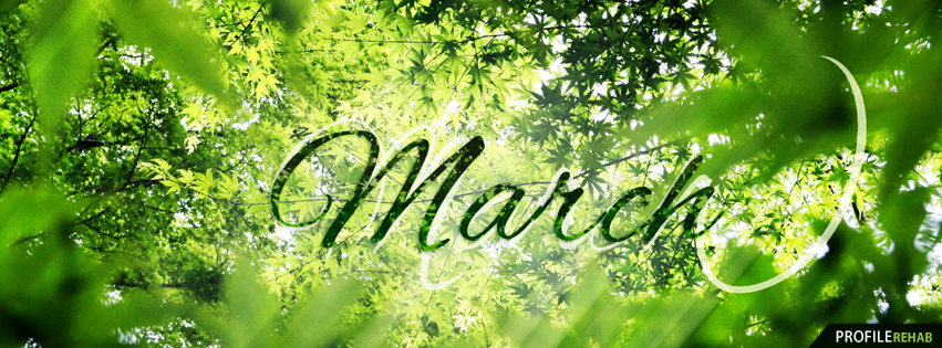 March Facebook Covers - The Month of March Facebook Cover