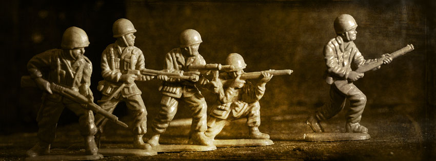 Cool Army Men Facebook Cover