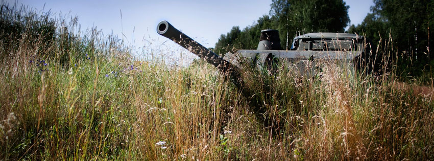 Army Tank Facebook Cover