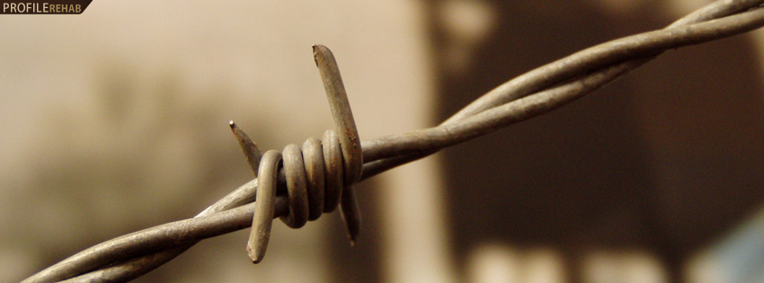 Barbed Wire Fence Facebook Cover
