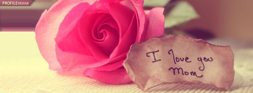 I love you mom cover 13 اغلفة عيد الام 2015   اغلفة فيس بوك عيد الام 2015