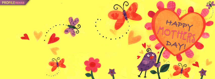 Cute Happy Mothers Day FB Cover - Happy Mothers Day Pictures Free