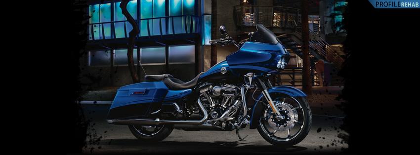 Blue Harley Timeline Cover