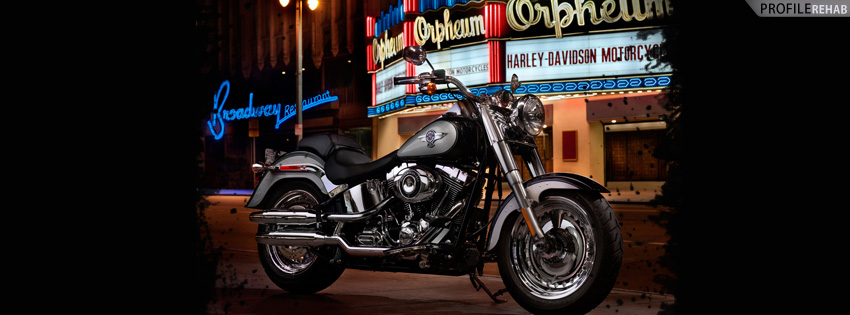 Cool Harley Timeline Cover for Facebook