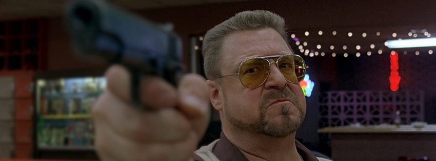 The Big Lebowski Walter Facebook Cover