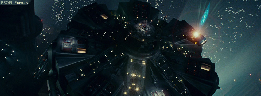 Blade Runner Movie Facebook Cover Preview