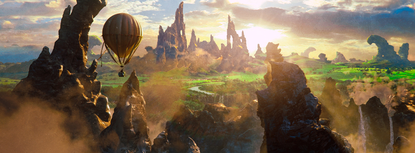 Oz Movie Scenery Facebook Timeline Cover