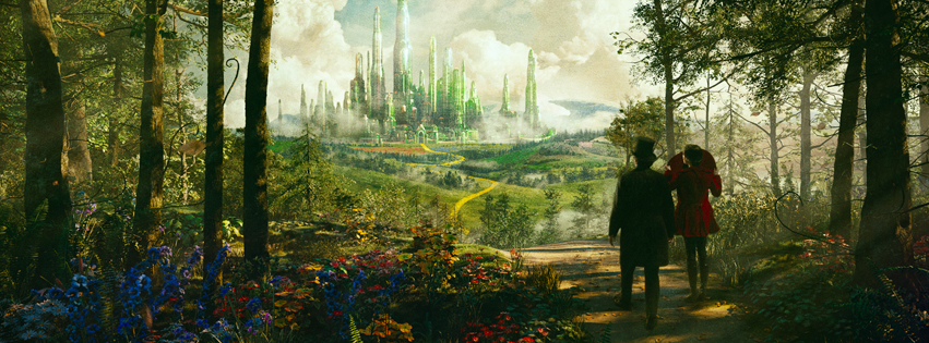 Oz The Great and Powerful Movie FB Cover Pictures