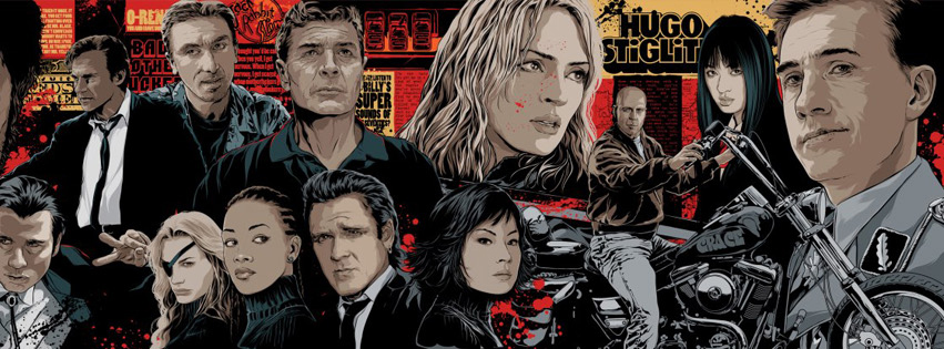 Pulp Fiction Facebook Cover