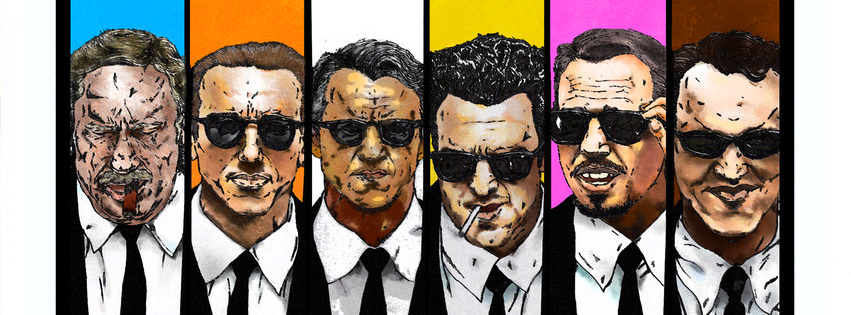 Reservoir Dogs Facebook Cover