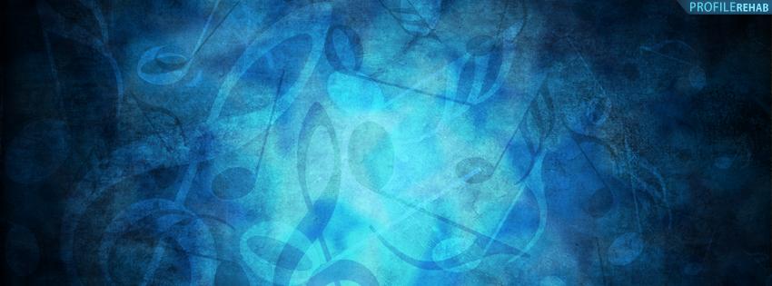 Musical Symbols Facebook Cover for Timeline