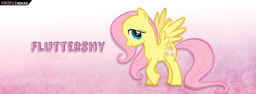 Fluttershy My Little Pony Facebook Cover