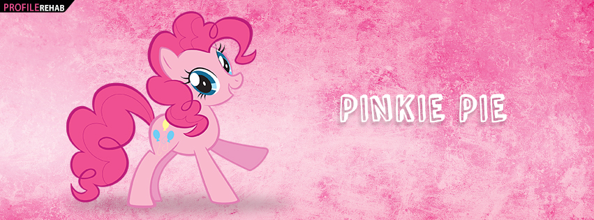 Pinkie Pie My Little Pony Facebook Cover
