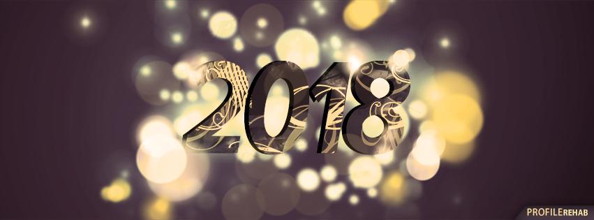 gold new year cover 13 غلاف فيس بوك happy new year 2015   اغلفة وكفرات للعام 2015