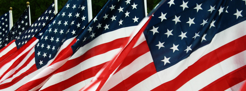 American Flag Facebook Cover - Memorial Day Cover Photo - Pictures of Memorial Day
