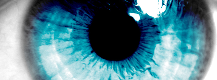 Cool Blue Eye Cover for Facebook