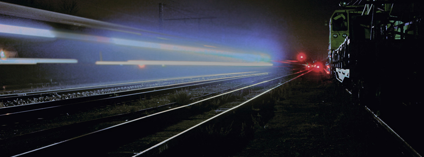 Cool Train Photography Facebook Cover for Timeline