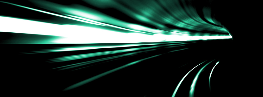 Tunnel Photography Facebook Cover for Timeline