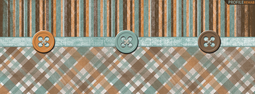 Plaid Striped Cover for Facebook Timeline
